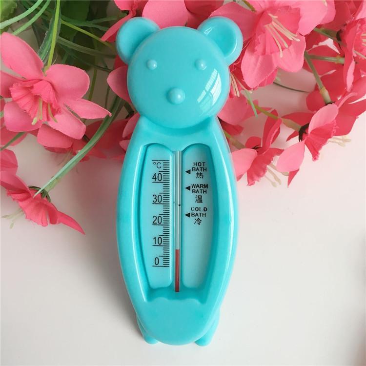 Dụng cụ đo nhiệt đồ nước tắm cho bé hình gấu, Chất liệu nhựa PP an toàn, Kích thước 16 5.7cm, Trọng lượng 25.7cm (giao màu ngẫu nhiên) 2