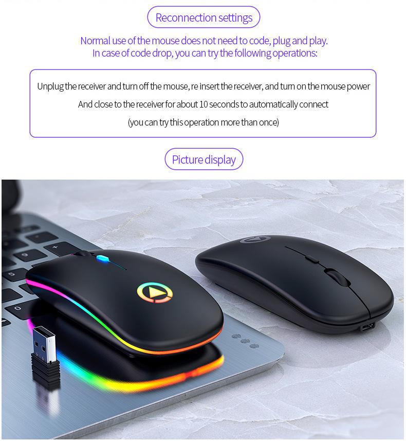 Chuột Wireless Fantech MX Master (Cổng sạc MICRO USB - Có Thể Sạc Lại) - Hàng Chính Hãng VN A 15