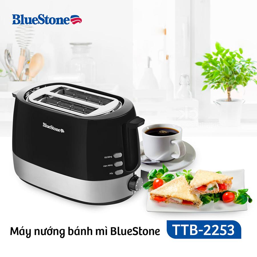 Máy Nướng Bánh Mì Bluestone TTB-2533 (850W)