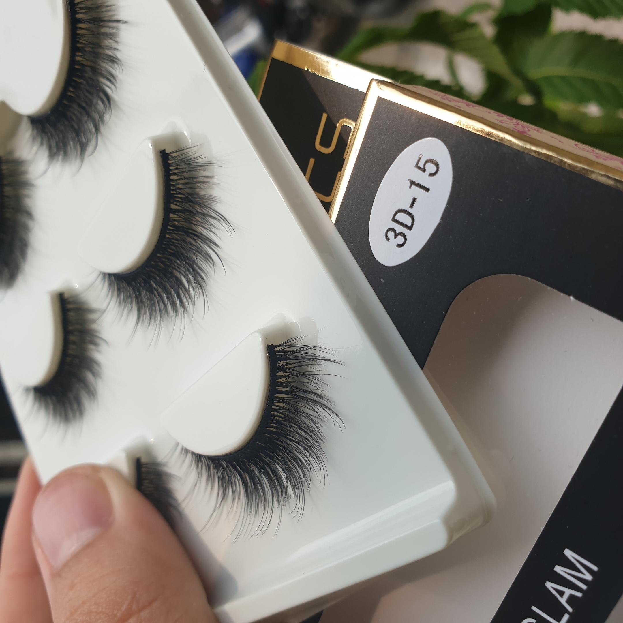Lông mi giả lông chồn 3 Fashion Eyelashes 3 Faux-Cils 3D 1 bộ 3 cặp 61
