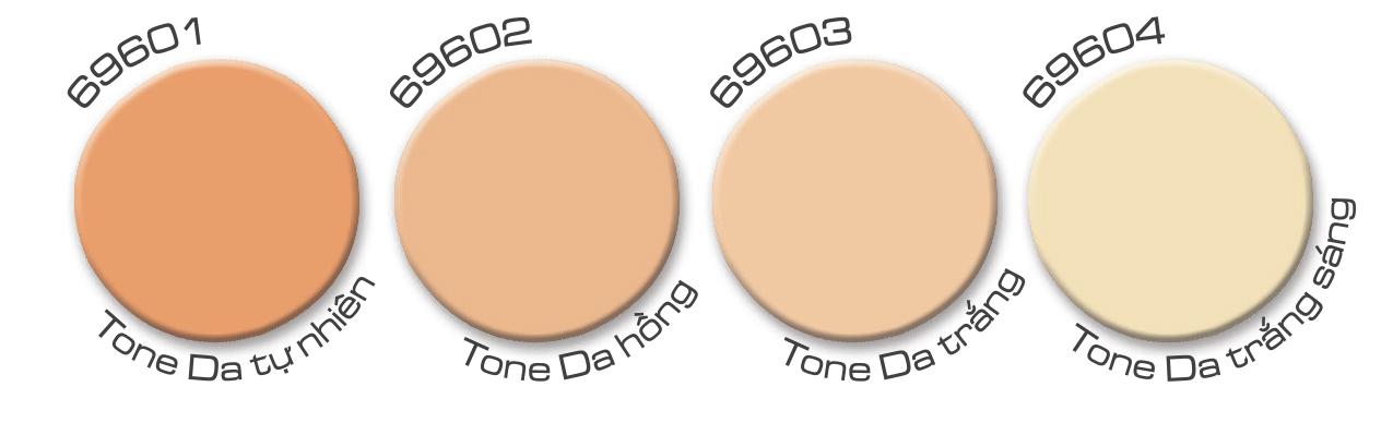 Phấn nền IONI SPF50+ PA+++ - Mattefying Pressed-Powder Foundation 1