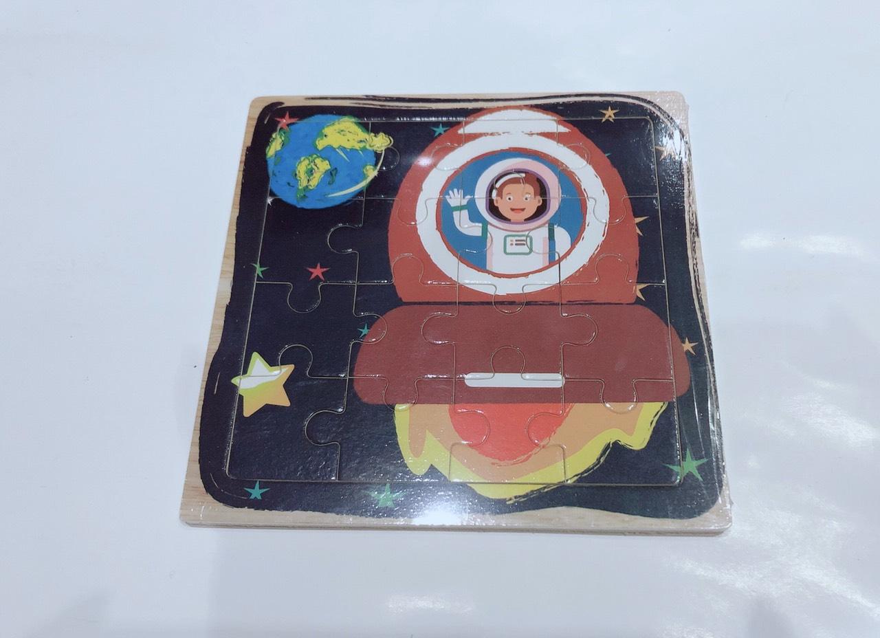 Combo Tranh ghép hình 16 miếng bằng gỗ cho bé tặng kèm bấm móng tay hình thú siêu dễ thương và tiện dụng 9