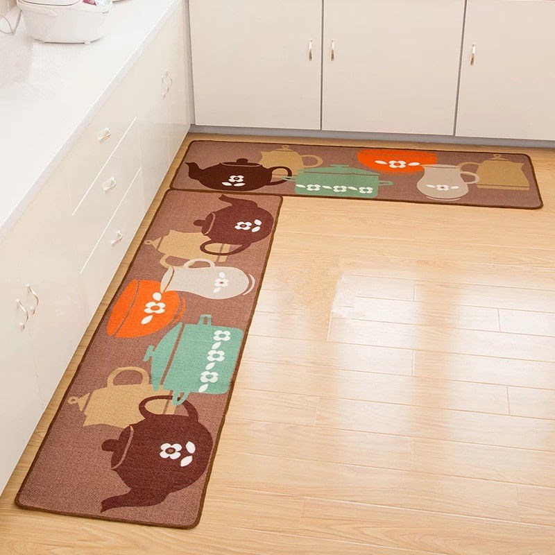 Bộ 2 Thảm 3D nhà bếp (Giao màu ngẫu nhiên) | Tiki.vn