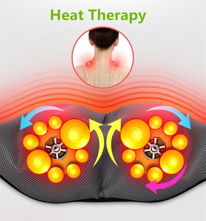 Đai Massage Đa Năng 8 Đầu Massage Cho Cổ Vai Gáy - Tặng kèm bút massage bấm huyệt 4