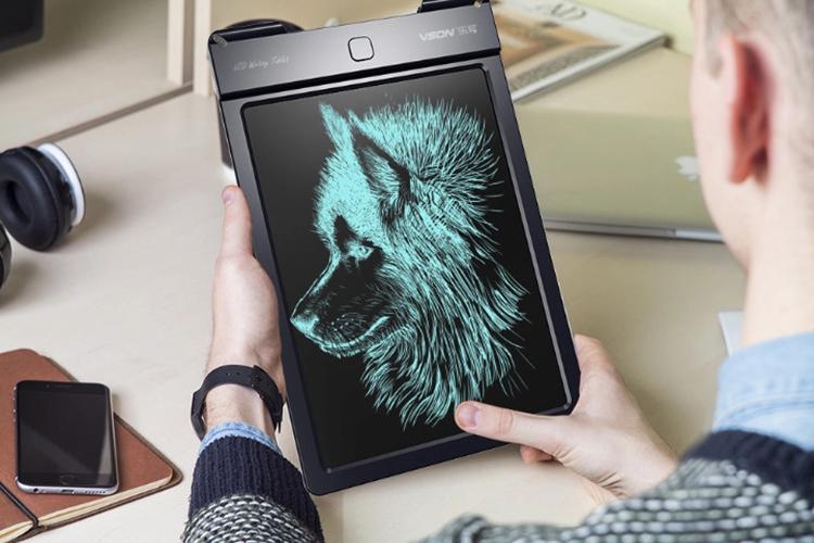 Bảng viết vẽ điện tử và lưu dữ liệu vào Android, iPhone, iPad Promax Vson 13 (Đen)