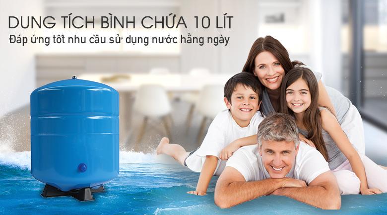 Máy Lọc Nước Tích Hợp Nóng Lạnh 10 Lõi Sunhouse SHR76210CK (10 lõi lọc)