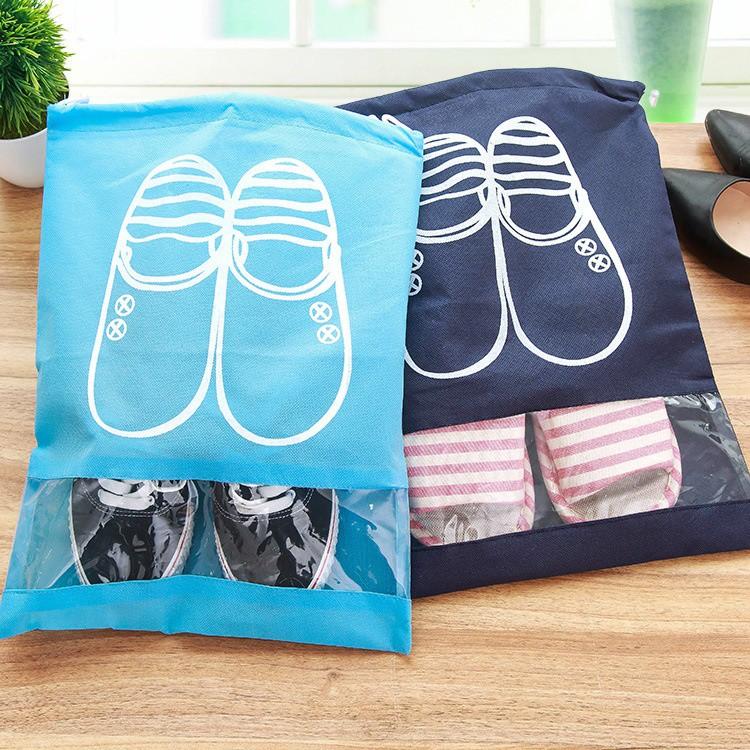 Bộ 3 Túi Đựng Giày Nhỏ Gọn Tiện Dụng Size To 1