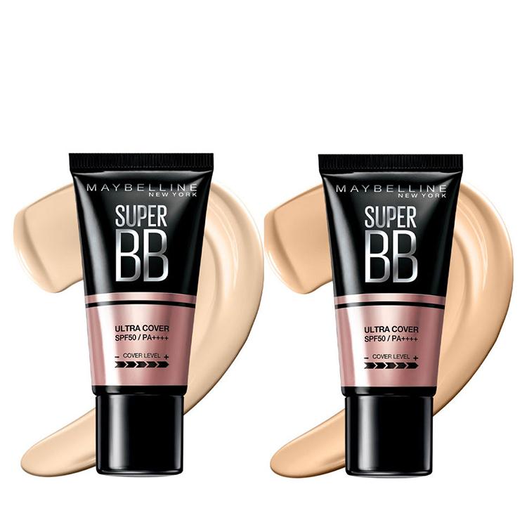 Kem Nền Maybelline Super BB Ultra Cream Cover SPF50 PA++++ 30ml Trang Điểm Hoàn Hảo PM711 12