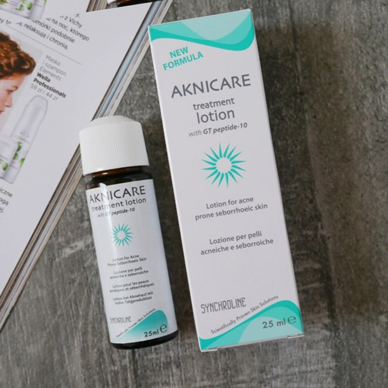 Bộ sản phẩm cho da mụn bọc, mụn viêm, giảm nhờn Aknicare (Sữa rửa mặt + Lotion) 3