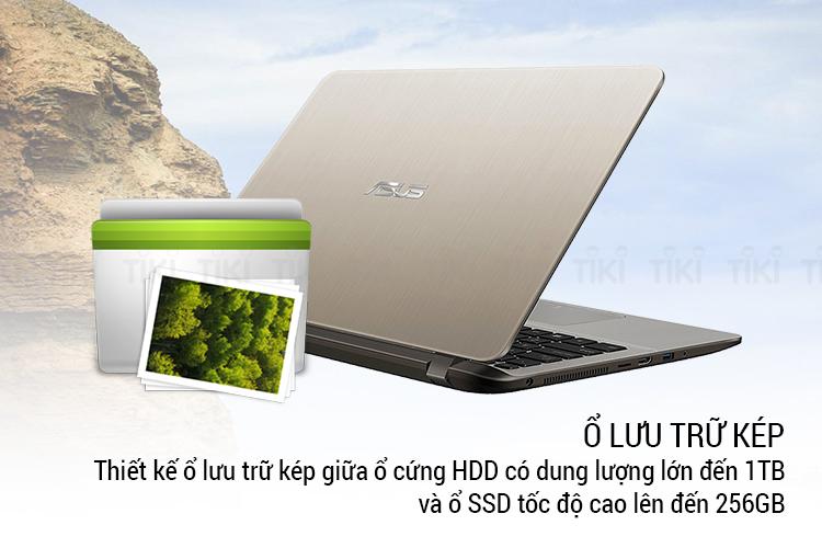 Laptop Asus Vivobook X407UA-BV551T P-4417U/ Win10 (14 HD) - Hàng Chính Hãng