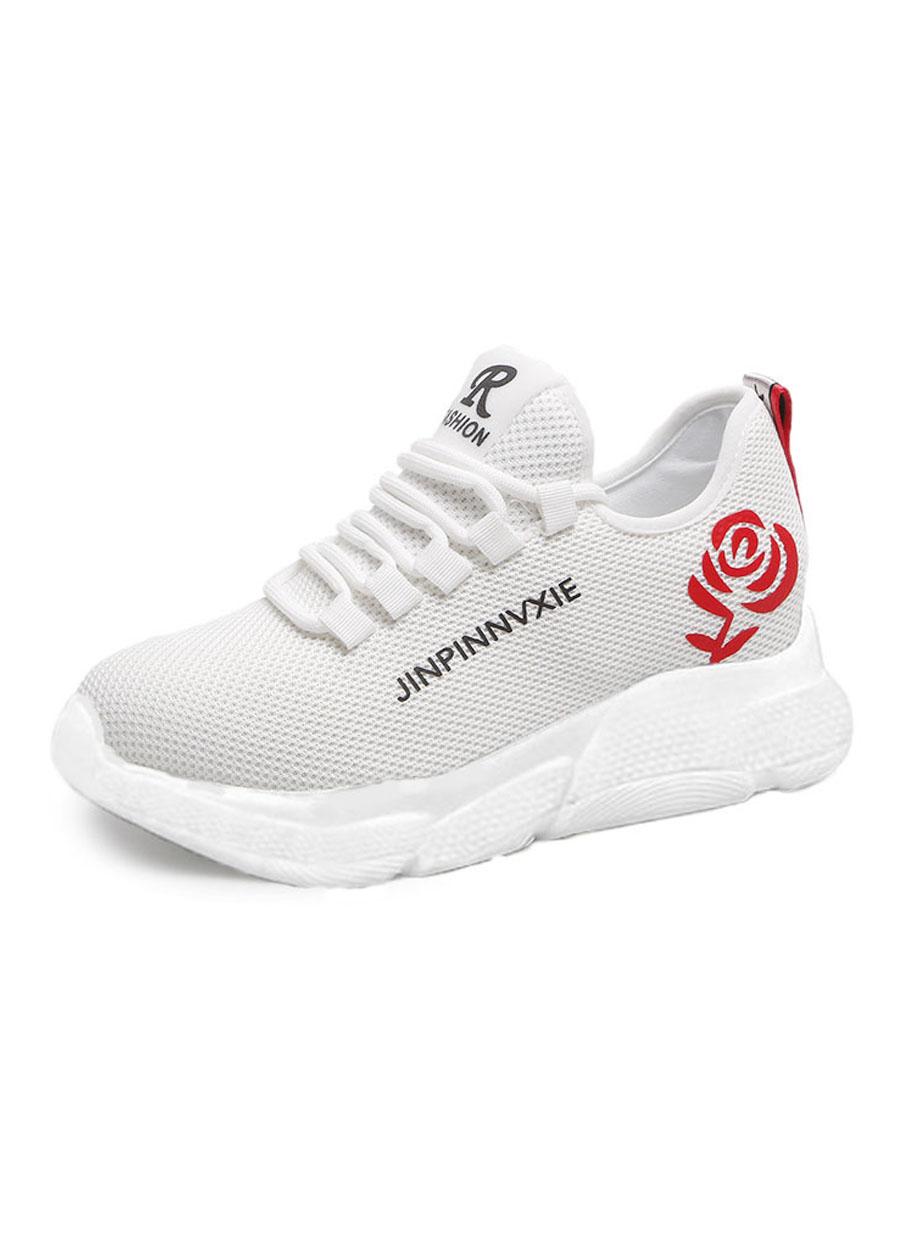 Giầy sneaker nữ buộc dây V201 5