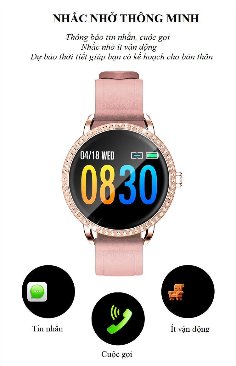 Đồng hồ theo dõi sức khỏe H7 (chống nước IP67) 11