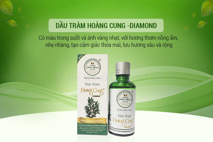 Dầu Tràm Hoàng Cung Diamond - 50ml 2