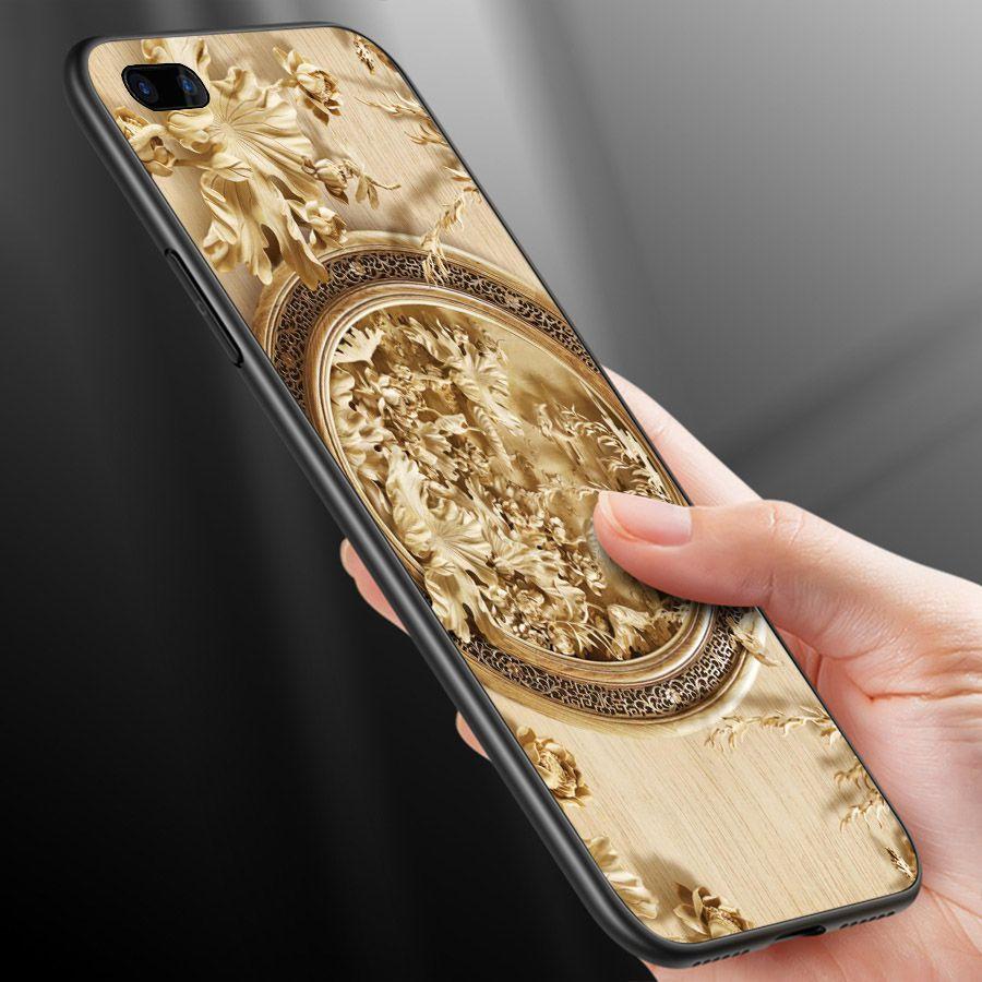 Ốp lưng cứng viền dẻo dành cho điện thoại Oppo A5/A3s - R11 - hình Điêu Khắc MS DKHAC029