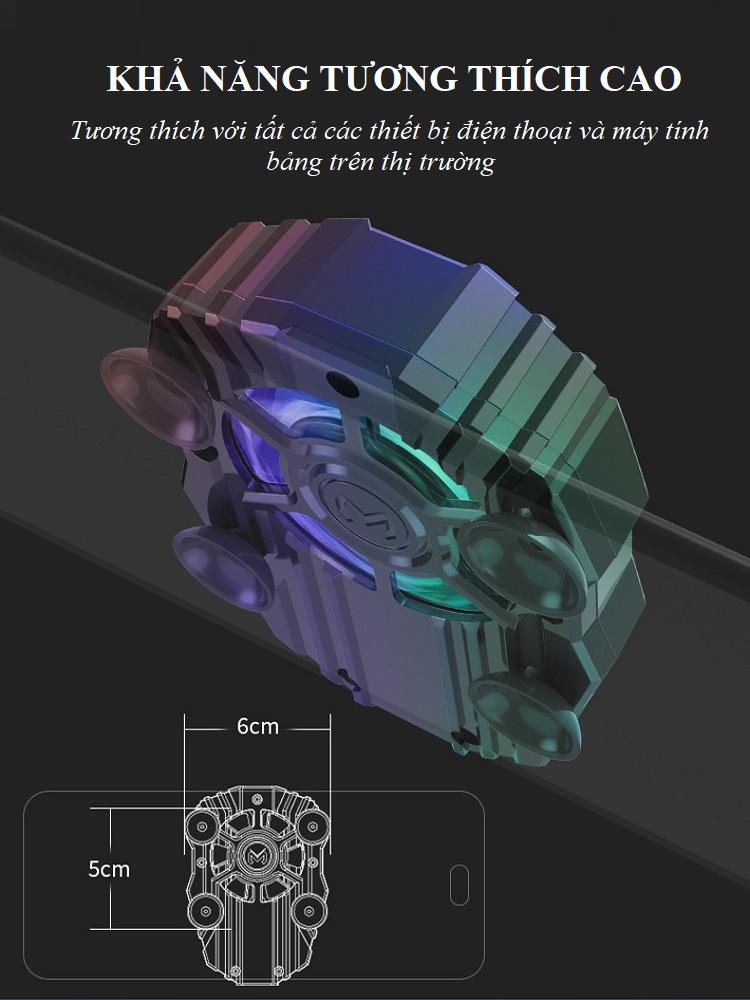 Tản nhiệt chuyên dụng cho game thủ F1 - Dành cho điện thoại 6
