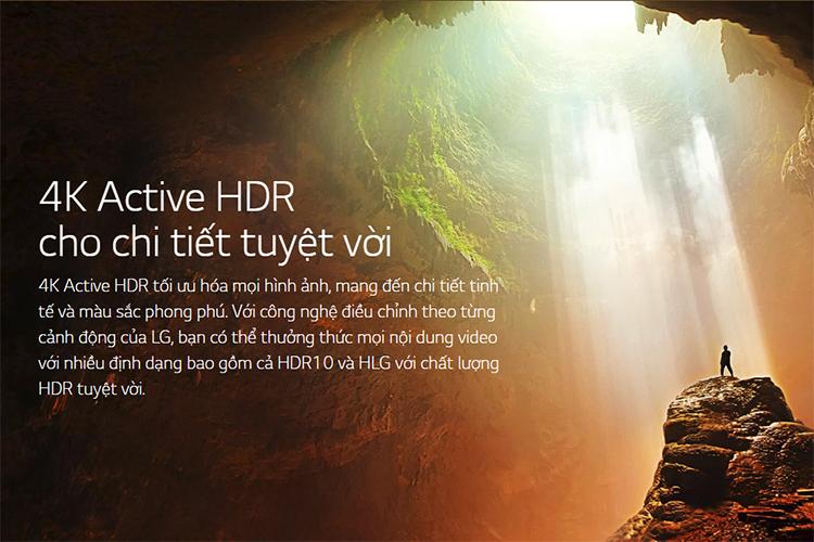 Smart Tivi LG 65 inch 4K UHD 65UM7400PTA - Hàng Chính Hãng