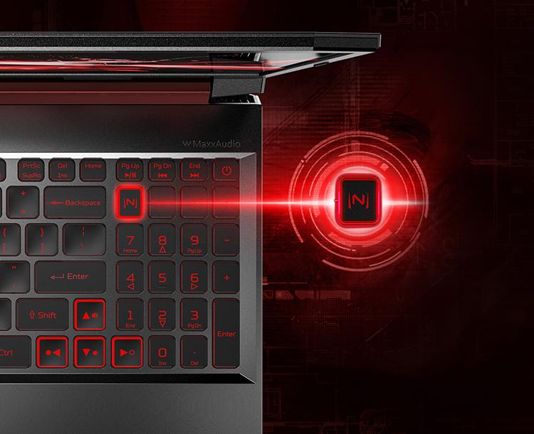 Laptop Acer Nitro 5 AN515-54-71HS NH.Q59SV.018 Core i7-9750H/ GTX 1650 4GB/ Win10 (15.6 FHD IPS) - Hàng Chính Hãng