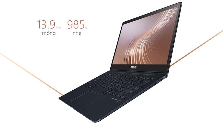 Laptop Asus Zenbook UX331UAL-EG044TS Core i7-8550U/ Win10 (13.3 inch FHD) - Hàng Chính Hãng