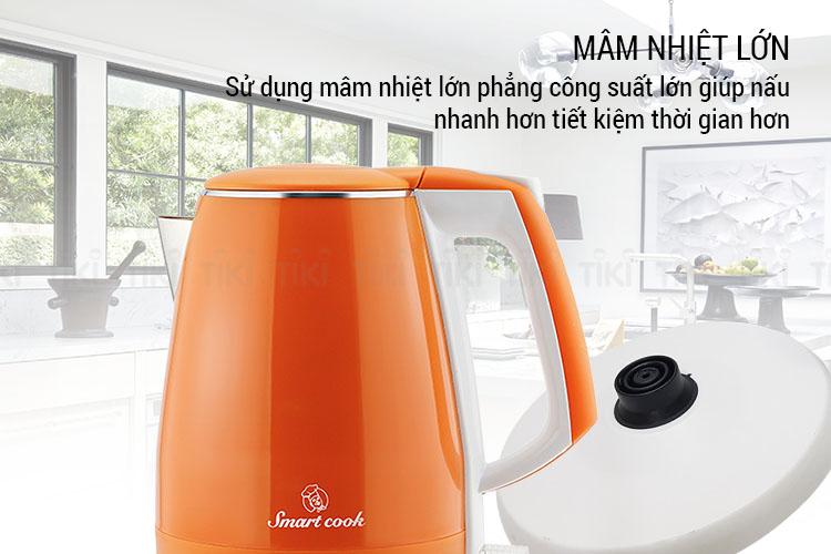 Bình siêu tốc Elmich - Smartcook KES-3866 - Hàng chính hãng