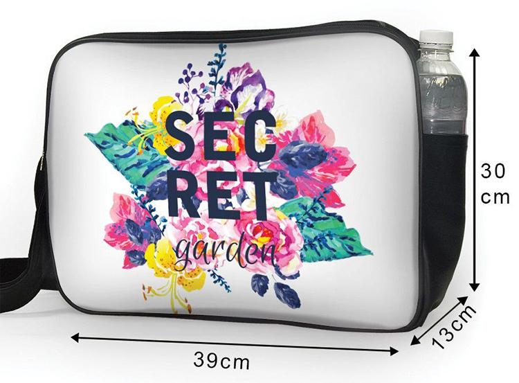 Túi Đeo Chéo Hộp Unisex Secret Garden - TCHO024