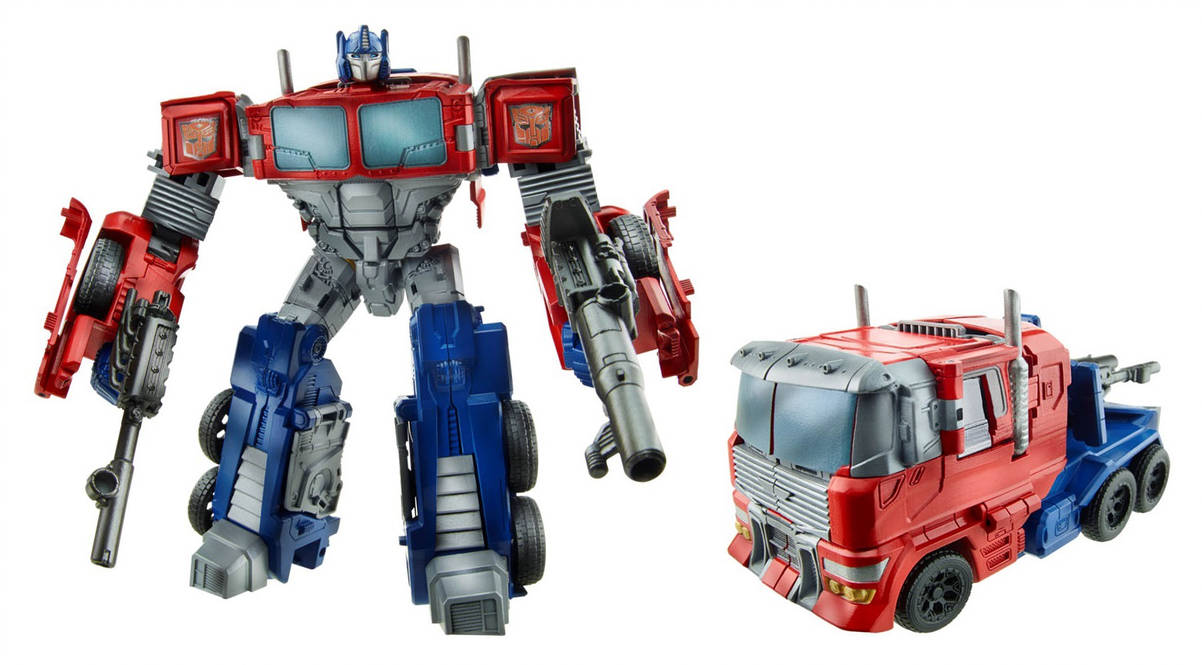 Hasbro Transformers classic navigational home toy Optimus Prime (red and blue) B1172