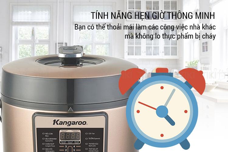Nồi Áp Suất Điện Kangaroo KG6P1 (6L)