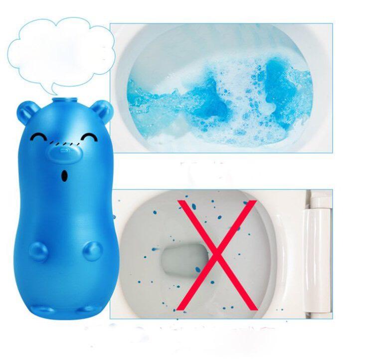 Chai tẩy bồn cầu hình heo  khử mùi hôi và diệt tận gốc các vi khuẩn gây hại