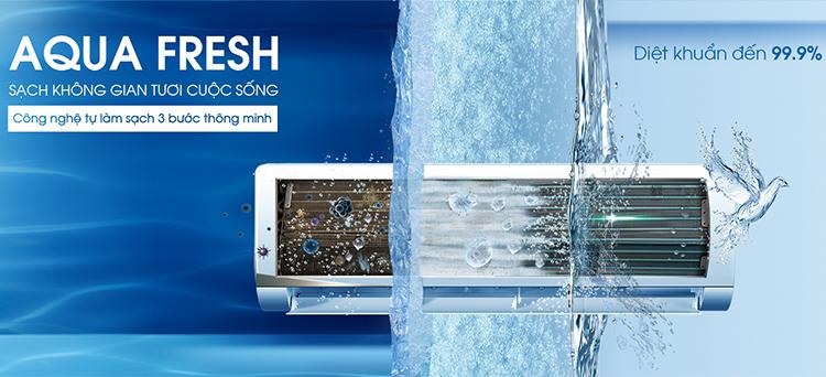 Máy Lạnh Inverter Aqua AQA-KCRV9WNH (1.0HP) - Hàng Chính Hãng - Chỉ Giao tại HCM