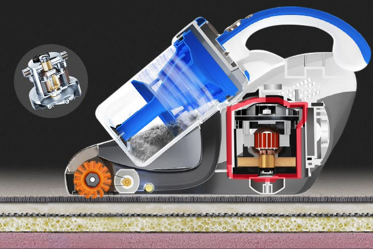 Lake (LEXY) in addition to mite instrument hand-held bed in addition to mite machine home vacuum cleaner VC-B503