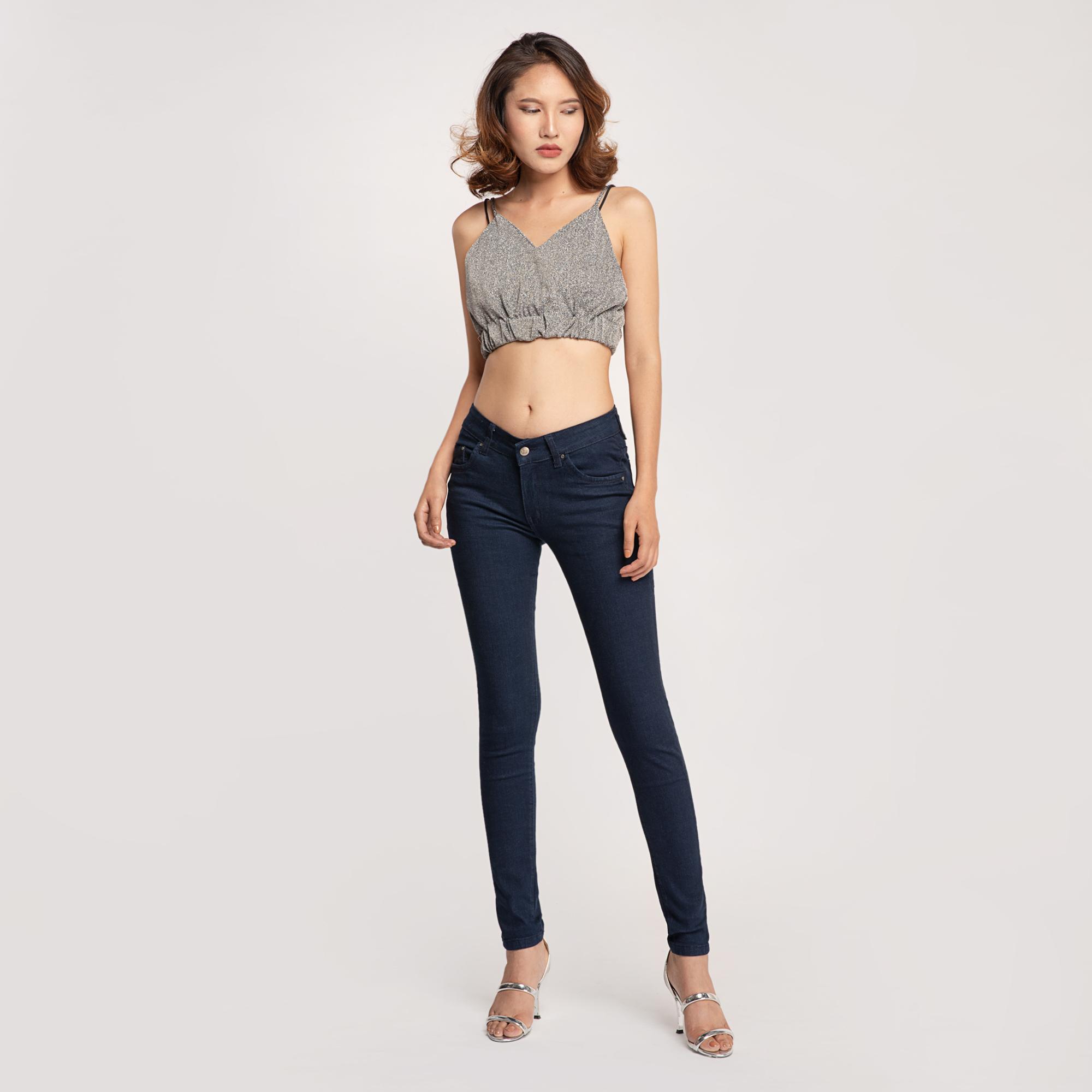 Quần Jean Nữ Skinny Lưng Vừa Aaa Jeans Có Nhiều Màu Size 26 - 32 22