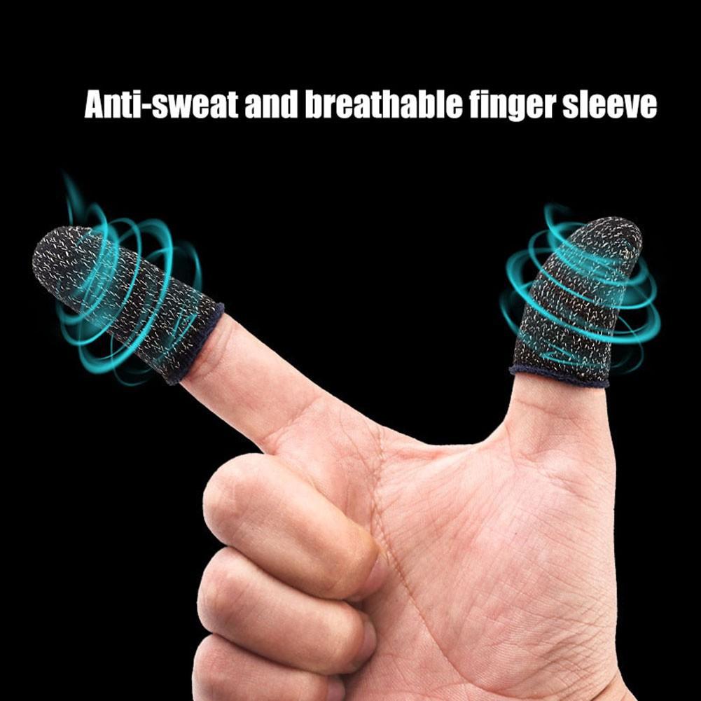 Bộ Găng tay chơi game cảm ứng bao ngón tay chống mồ hôi chống trượt 2