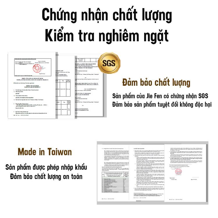 Sữa Tắm Thảo Dược Chuyên Sâu Jie Fen - Hoa Hồng (720ml)