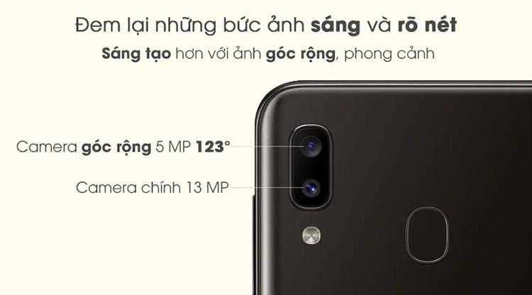 Điện Thoại Samsung Galaxy A20 (32GB/3GB) - Hàng Chính Hãng