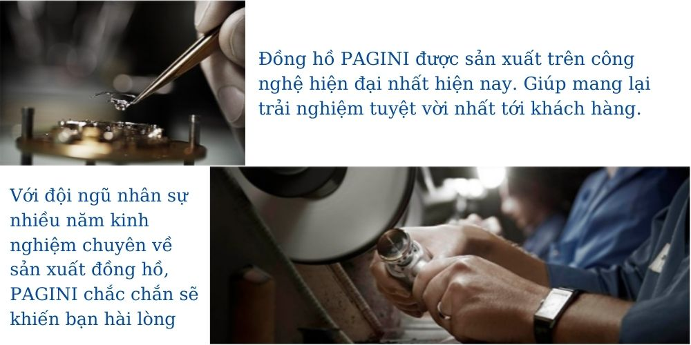 Đồng hồ nam PAGINI cao cấp chống nước - Mặt kính tráng sapphire chống xước - Phong cách sang trọng - Lịch lãm 10