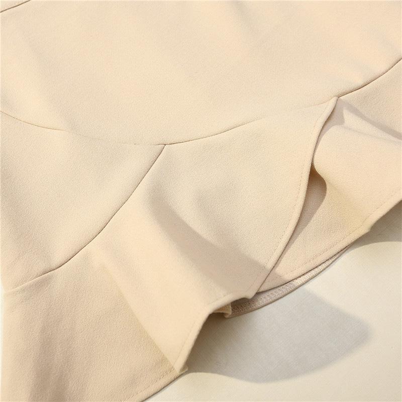 Chân váy công sở đẹp Louro L700, có lớp lót quần bên trong, dáng ngắn chữ A vẩy đuôi cá nhẹ, dễ kết hợp trang phục, đi làm đi chơi,tặng quần mặc trong váy cotton cao cấp 7