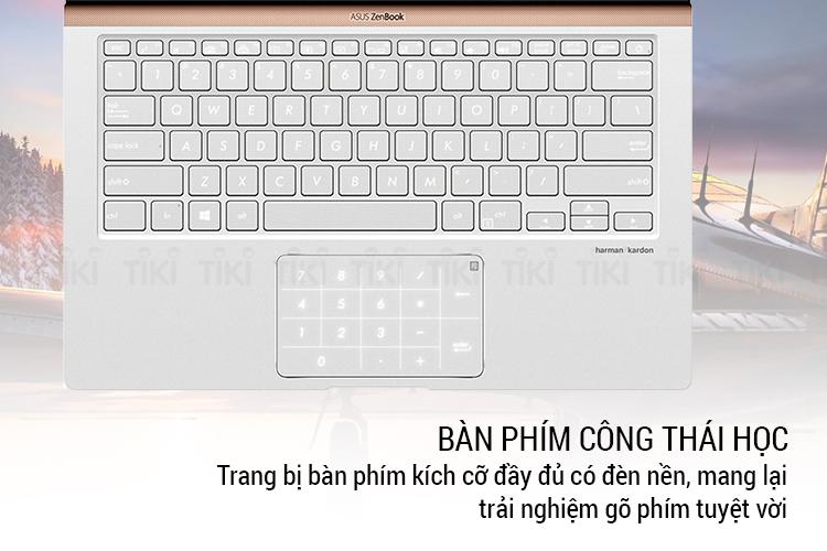Laptop Asus Zenbook 13 UX333FA-A4117T Core i5-8265U/ Win10 (13.3 FHD) - Hàng Chính Hãng