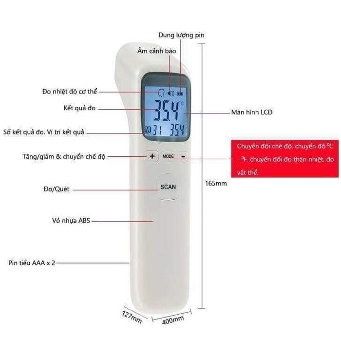 Hướng dẫn sử dụng nhiệt kế điện tử đo nhiệt độ cho bé