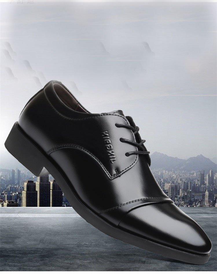 Giày da thật nam giày da nam cao cấp giày nam công sở sang trọng, phong cách thời trang giày da cao cấp giày nam mẫu mới mã 8867-A 10
