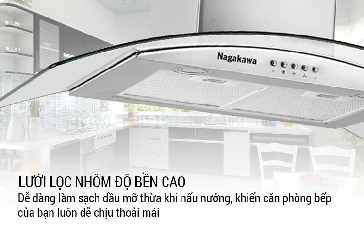 Máy Hút Mùi Nagakawa NAG1851-90C (90 cm) - Hàng Chính Hãng