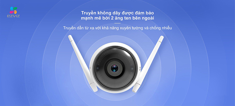 Camera IP Wifi EZVIZ C3W 1080P có đèn còi - đàm thoại 2 chiều - hổ trợ thẻ nhớ lên đến 256G - hàng nhập khẩu 6