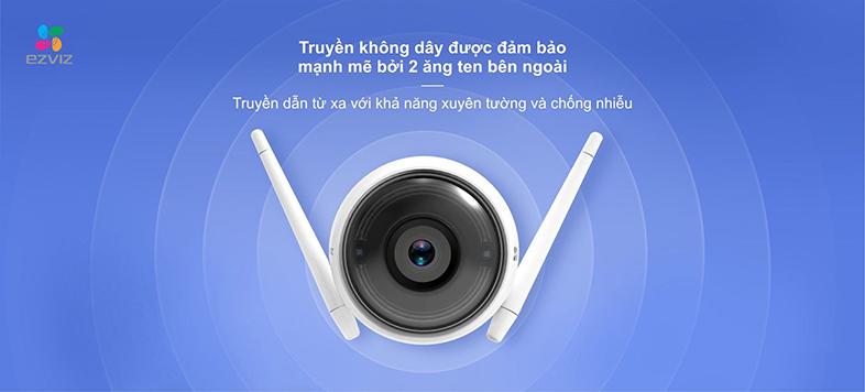 Camera IP Wifi EZVIZ C3W 720P có đèn còi - đàm thoại 2 chiều - hàng nhập khẩu 6