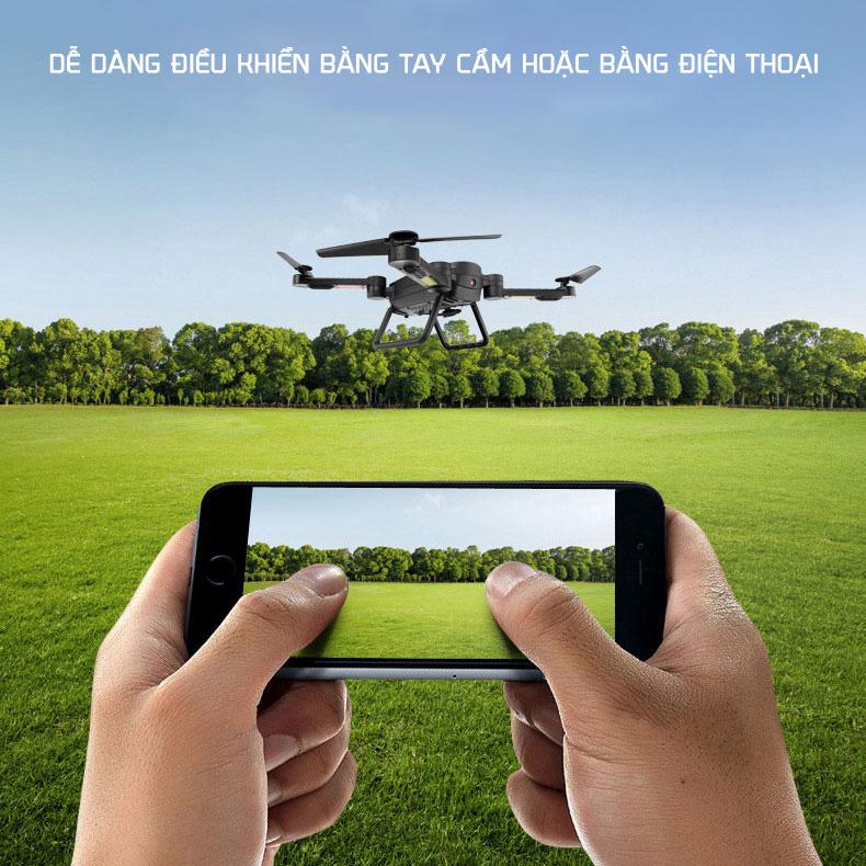 Máy bay quay phim điều khiển từ xa Flycam SkyHunter X8 full HD 1080p Drone gia dụng ALOMA