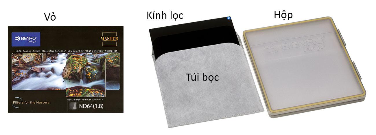Filter Kính lọc vuông Benro Hệ 100, Hàng chính hãng 12