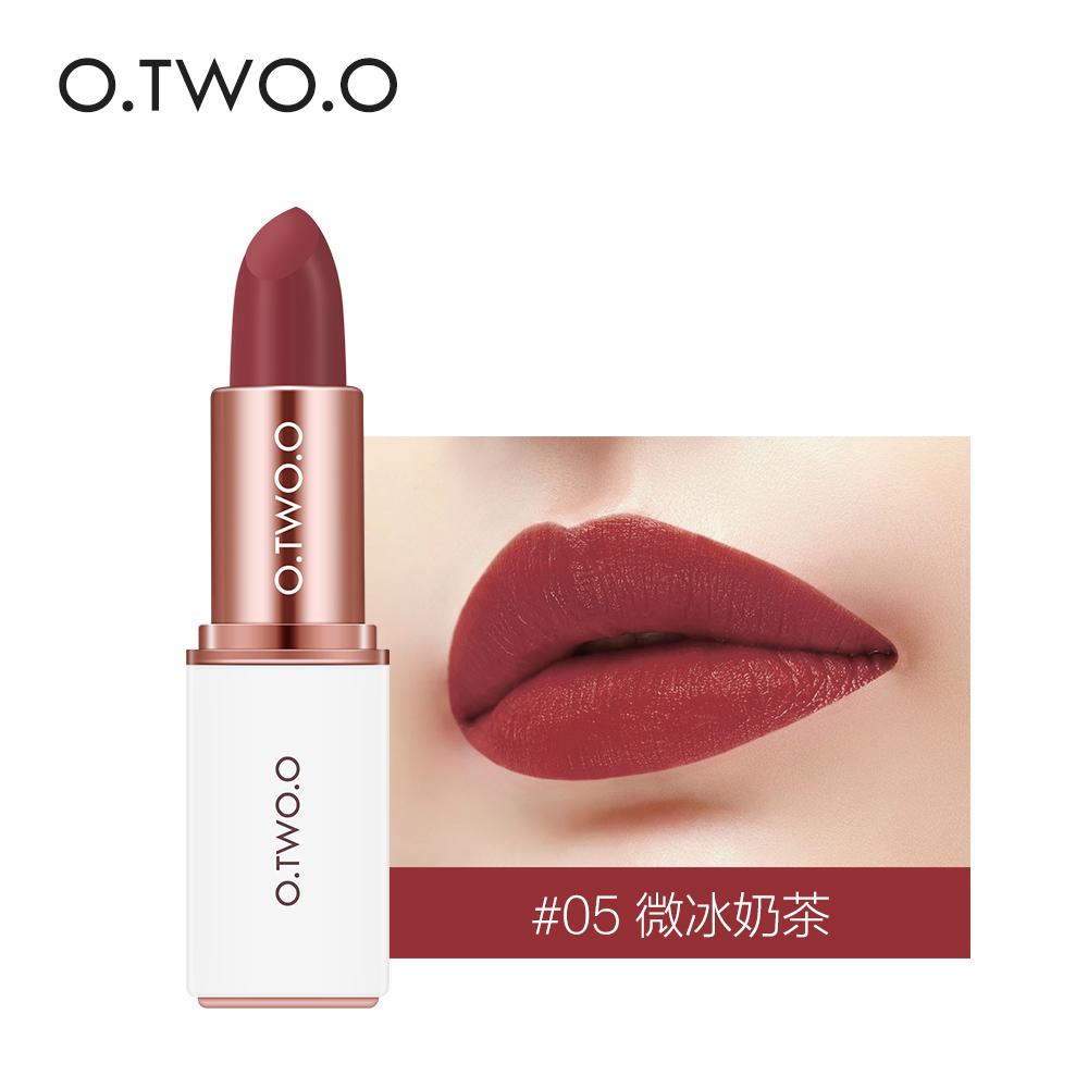 Son Môi O.TWO.O Matte Lipstick Rouge Á Lèvres 2