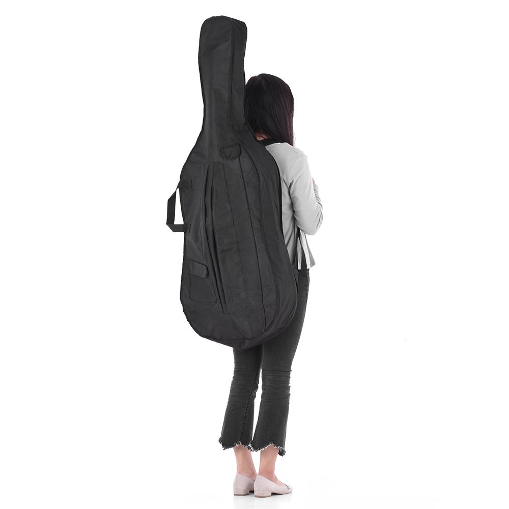 Túi Đựng Đàn Cello 4/4 3/4 Đen