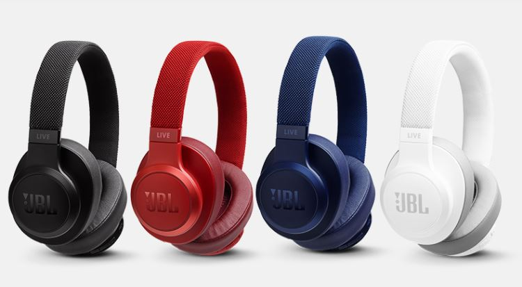 JBL LIVE 500BT Headset Wireless Bluetooth Headset Tencent Cloud Small Micro Smart Headphones Sports Headphones Music Headphones White