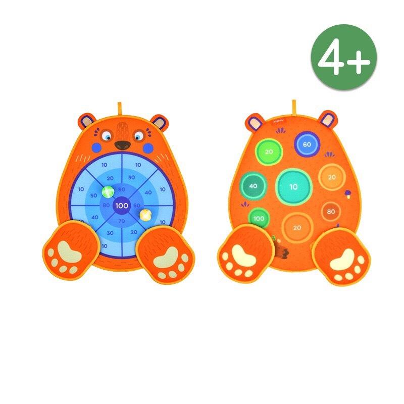 Trò Chơi Ném Bóng Dính Gấu chính hãng Mideer fun dart game BEAR 1