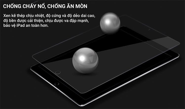 Kính Cường Lực Cho iPad Pro 10.5 Remax - Trong Suốt - Hàng Chính Hãng