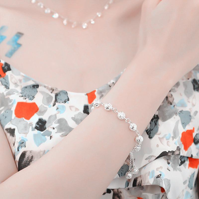 Dép nhung nỉ nữ đi trong nhà vào mùa đông giữ ấm chân êm ái đế chống trượt thời trang + tặng kèm lắc bạc 925 2