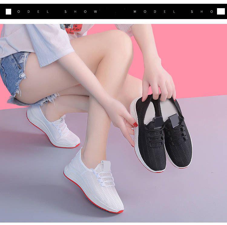 Giày Thể Thao Nữ Vải Cao Cấp 3Fashion Nhẹ Êm Chân Thích Hợp Đi Công Việc, Du Lịch, Vận Động - 3215 4